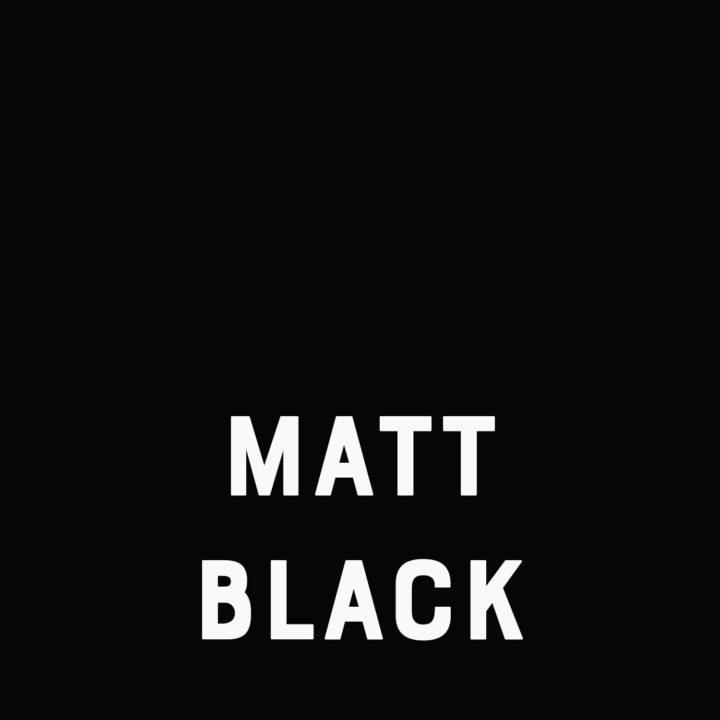 matt black doorie