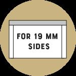 päällyslevy 19 mm