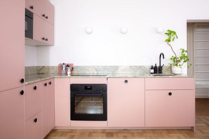 Ikea keittiö Rose Doorie