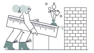 Suunnittele ja mittaa kotona